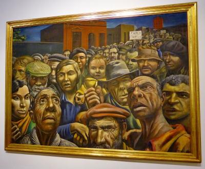 06) Antonio Berni, manisfestation , 1934.JPG