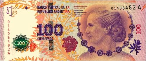 billet de 100 pesos argentins evita.jpg