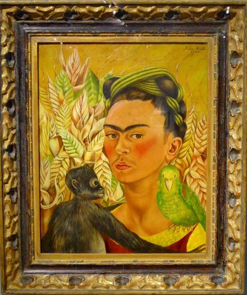 08) Selfportrait Frida Kalho, 1942, malba.JPG