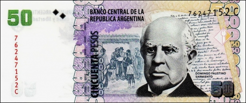 billet de 50 pesos argentins.JPG